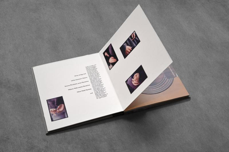 Musik CD Verpackung - Ralf Mischnick Grafik Design Berlin